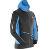 Salomon X Alp Speed Hardloopshirt lange mouwen Heren blauw/zwart